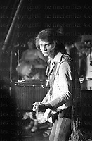 French Rock Legend Johnny Halladay seen in 1972 during his 'Circus Tour' in Paris. Photographed by Terry Fincher