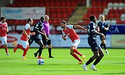 Liam Sercombe of Cheltenham Town runs with the ball- Mandatory by-line: Nizaam Jones/JMP - 12/09/2020 - FOOTBALL - Jonny-Rocks Stadium - Cheltenham, England - Cheltenham Town v Morecambe - Sky Bet League Two