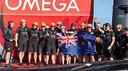 Emirates Team New Zealand on board Te Rehutai after winning the America's Cup against Luna Rossa Prada Pirelli Team 7 - 3.  Wednesday the 17th of March 2021. Copyright photo: Chris Cameron