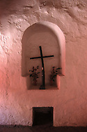 In the old cells of cloistered nuns