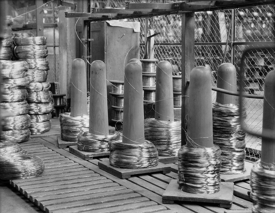 Wire Spools, Siemens-Schuckertwerke, Gartenfeld, Berlin-Spandau, 1928
