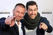 Jonny Fischer und Manuel Burkart anlässlich der Gala von DAS ZELT 2018