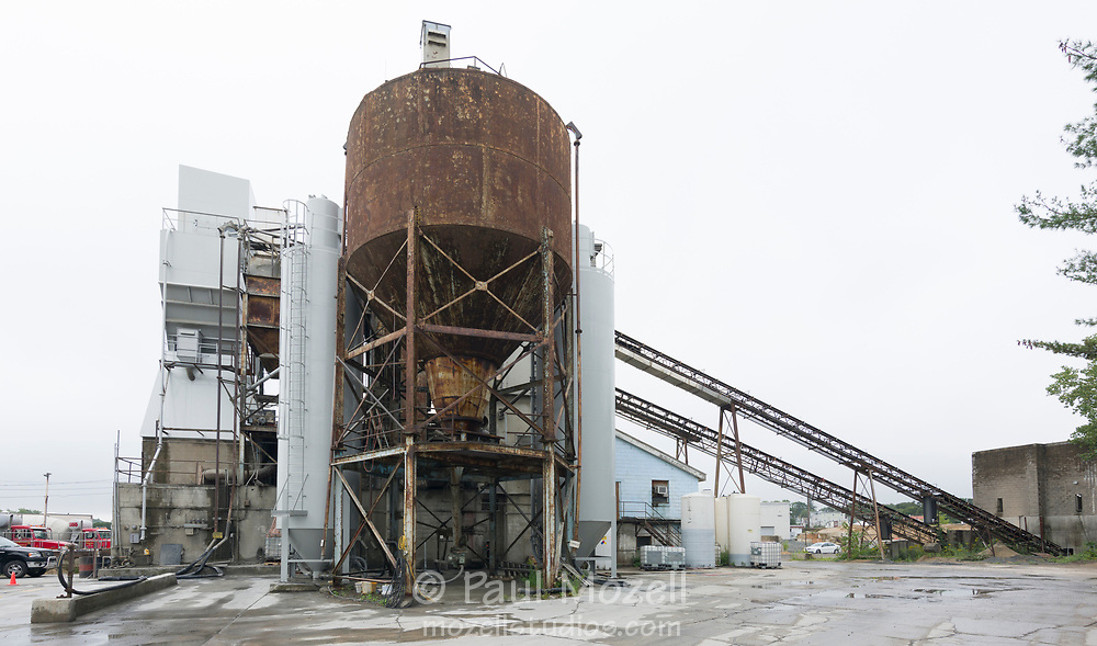 JG Maclellan Concrete Co Inc in Wakefield, MA —raw, interesting, and aged.