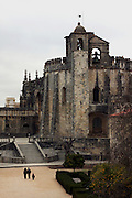 An outside view of the Charola, in the Convent of Jesus Christ at Tomar in the Center of Portugal. Built in the 12 th Century by the Poor Knights of Jesus Christ (the Templars), with strong influence from Jerusalem's religious buildings from the time of Crusades, as the Temple of the Rock.Paulo Cunha/4see