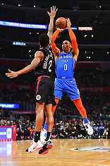 Clippers v Thunder - 08 March 2019
