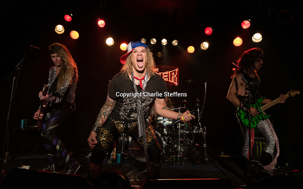 MICHAEL STARR of Steel Panther at the Viper Room in Los Angeles, California