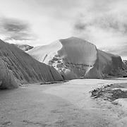 Canada Glacier terminus on hike to Lake Fryxell.