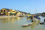 © Licensed to London News Pictures. 03/01/2012. A view of Hoi An from the Thu Bon river, Vietnam. Photo credit : Stephen Simpson/LNP