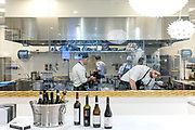 Milan, Linate Airport. restauirant, MIchelangelo restaurant