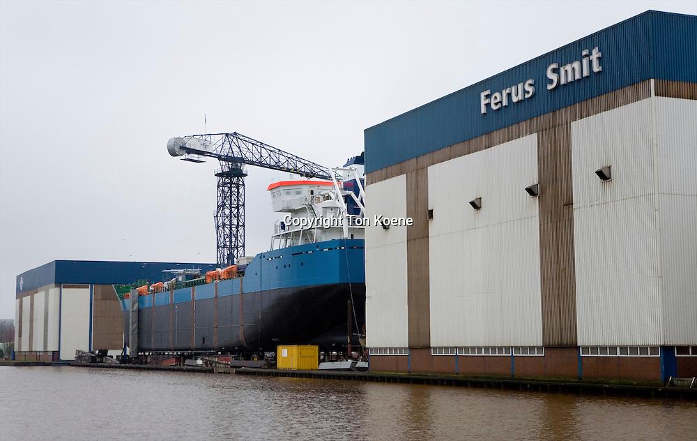 Construction of a ship