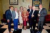 Tachtigste verjaardag van cabaretier Paul van Vliet