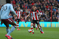 Football - 2019 / 2020 Premier League - Southampton vs. Aston Villa<br /> <br /> The day after his 20th Birthday Southampton's Will Smallbone makes his Premier league debut at St Mary's Stadium Southampton<br /> <br /> COLORSPORT/SHAUN BOGGUST
