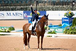 Voets Sanne, NED, Demantur<br /> World Equestrian Games - Tryon 2018<br /> © Hippo Foto - Sharon Vandeput<br /> 20/09/2018