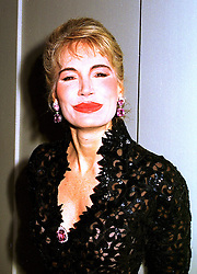MRS DONATELLA FLICK ex wife of the Mercedes millionaire, at a dinner in London on 23rd October 1998.MLD 6