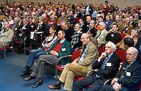PAPENDAL - Seminar EGA Handicapsysteem 2007-2010.  Jan Kees van Soest (vice voorz. NGF en voorz. comm regels NGF), Lout Mangelaar Meertens (EGA).COPYRIGHT KOEN SUYK