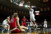 WACO, TX - DECEMBER 18: Niya Johnson #2 of the Baylor Bears drives to the basket against the Mississippi Lady Rebels on December 18 at the Ferrell Center in Waco, Texas.  (Photo by Cooper Neill) *** Local Caption *** Niya Johnson