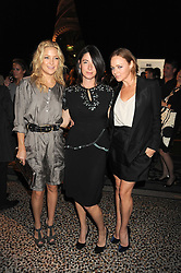 Left to right, Actress KATE HUDSON, MARY McCARTNEY and STELLA McCARTNEY at British Style Observed - part of National Magazine's 30 Days of Fashion & Beauty festival featuring photographs by Mary McCartney with proceeds from the evening going to Macmillan Cancer Care held at the Natural History Museum, Cromwell Road, London on 16th September 2008.