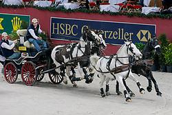 De Ronde Koos - Gerrit, Igor, Mario, Mister<br /> CAI-W Geneve 2007<br /> Photo © Hippo Foto