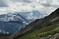 Rugged terrain of North Cascades National Park