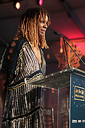 Bridgehampton, New York, NY-July 15: Tangie Murray, Executive Director, RUSH Philanthropic Foundation attends The 2017 RUSH Philanthropic's  Art For Life held at Fairview Farms on July 15, 2017 in Bridgehampton, New York. (Photo by Terrence Jennings/terrencejennings.com)