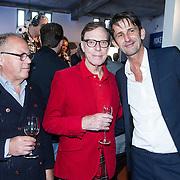 NLD/Amsterdam/20140416 - Presentatie L' Homo 2014, Joop Braakhekke, Frans Molenaar en Cornald Maas