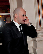 JONNY LEE MILLER, Post Olivier Awards Gala party. Waldorf Astoria. London. 13 March 2011. -DO NOT ARCHIVE-© Copyright Photograph by Dafydd Jones. 248 Clapham Rd. London SW9 0PZ. Tel 0207 820 0771. www.dafjones.com.
