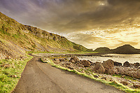 The Giant's Causeway Road is the main access to the Giant's Causeway, Northern Ireland's most popular attraction. From the Visitor Centre you can walk for 1 kilometer or take a private bus service that will leave you right in front of the basalt columns. I would recommend you to choose the walking option though, so that you can fully experience the beauty of this place. There are four stunning trails at the Giant's Causeway. From a pram friendly jaunt to a challenging coastal hike, there's something to suit everyone. Recently upgraded as part of the Giant's Causeway Visitor Centre project, all are colour coded and offer breathtaking views.