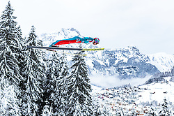 17.12.2017, Gross Titlis Schanze, Engelberg, SUI, FIS Weltcup Ski Sprung, Engelberg, im Bild Gregor Deschwanden (SUI) // Gregor Deschwanden of Switzerland during Mens FIS Skijumping World Cup at the Gross Titlis Schanze in Engelberg, Switzerland on 2017/12/17. EXPA Pictures © 2017, PhotoCredit: EXPA/JFK