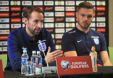 Football: England Press Conference and Training - 07 Oct 2017