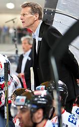 27.04.2011, TWK Arena, Innsbruck, AUT, IIHF WM 2011, Testspiel, Österreich vs USA, im Bild Bill Gilligan (AUT, Headcoach) during friendly ice hockey match between Austria and USA, in preparation of IIHF world Championship 2011 at TWK Arena in Innsbruck Austria on 27/4/2011. EXPA Pictures © 2011, PhotoCredit: EXPA/ J. Groder