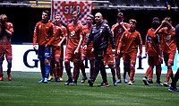 Fotball , 20 . november 2015 , NM finale G16<br /> Brann - Lillestrøm 1-4<br /> trener Kristian Andersen , Brann og spilleren er oppgitte