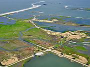 Nederland, Flevoland, Markermeer, 07-05-2021; Marker Wadden in het Markermeer. Westelijk deel. Doel van het project van Natuurmonumenten en Rijkswaterstaat is natuurherstel, met name verbetering van de ecologie in het gebied, in het bijzonder de kwaliteit van bodem en water. De Marker Wadden archipel bestaat momenteel uit vijf eilanden, twee nieuwe eilanden zijn in ontwikkeling.<br /> Marker Wadden, artifial islands. The aim of the project is to restore the ecology in the area, in particular the quality of soil and water.<br /> The Marker Wadden archipelago currently consists of five islands, two new islands are under development.<br /> luchtfoto (toeslag op standard tarieven);<br /> aerial photo (additional fee required)<br /> copyright © 2021 foto/photo Siebe Swart