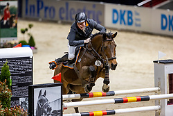 WERNKE Jan (GER), Queen Mary<br /> - Stechen -<br /> VEOLIA Championat<br /> Int. jumping competition with 1 jump-off (1.50 m) - CSI3*<br /> Comp. counts for the LONGINES Rankings<br /> Braunschweig - Classico 2020<br /> 07. März 2020<br /> © www.sportfotos-lafrentz.de/Stefan Lafrentz