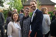 ROXANNE ZAND; FATIMA MALEKI; MICHELE CONDONI, Dinner to celebrate the 10th Anniversary of Contemporary Istanbul Hosted at the Residence of Freda & Izak Uziyel, London. 23 June 2015