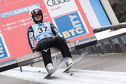 February 8, 2019 - Ljubno, Savinjska, Slovenia - Sara Takanashi of Japan on first competition day of the FIS Ski Jumping World Cup Ladies Ljubno on February 8, 2019 in Ljubno, Slovenia. (Credit Image: © Rok Rakun/Pacific Press via ZUMA Wire)