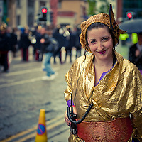 A rather rainy, grey, cold parade this year but that didn't stop it being full of life and colour.