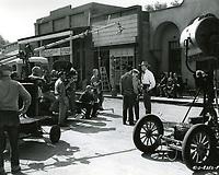 1954 Filming Masterson of Kansas at Columbia Studios