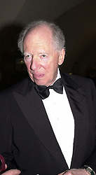 LORD ROTHSCHILD at a reception in London on 17th April 2000.OCX 6