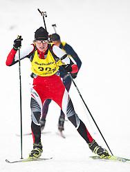 11.12.2010, Biathlonzentrum, Obertilliach, AUT, Biathlon Austriacup, Sprint Men, im Bild Matthäus Grundner (AUT, #32). EXPA Pictures © 2010, PhotoCredit: EXPA/ J. Groder