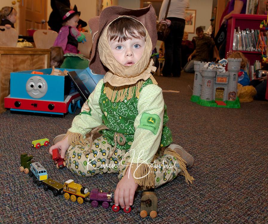 Gilford Public Library Halloween festivities October 29, 2010.