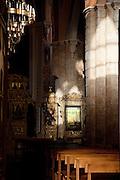 Interior of Saint George Orthodox Cathedral, Beirut, Lebanon