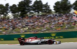 May 11, 2019 - Barcelona, Spain - Motorsports: FIA Formula One World Championship 2019, Grand Prix of Spain, ..#7 Kimi Raikkonen (FIN, Alfa Romeo Racing) (Credit Image: © Hoch Zwei via ZUMA Wire)