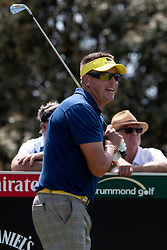 November 15, 2018 - Sydney, NSW, U.S. - SYDNEY, AUSTRALIA - NOVEMBER 15: Robert Allenby (AUS) at Day 1 of The Emirates Australian Open Golf on November 15, 2019, at The Lakes Golf Club in Sydney, Australia. (Photo by Speed Media/Icon Sportswire) (Credit Image: © Speed Media/Icon SMI via ZUMA Press)
