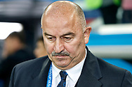 Russia coach Stanislav Cherchesov during the 2018 FIFA World Cup Russia, Group A football match between Russia and Egypt on June 19, 2018 at Saint Petersburg Stadium in Saint Petersburg, Russia - Photo Stanley Gontha / Pro Shots / ProSportsImages / DPPI