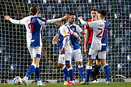 3-1, GOAL scored by Adam Armstrong of Blackburn Rovers   during the EFL Sky Bet Championship match between Blackburn Rovers and Queens Park Rangers at Ewood Park, Blackburn, England on 7 November 2020.