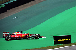 Sebastian Vettel (GER) Ferrari SF16-H spins.<br /> 11.11.2016. Formula 1 World Championship, Rd 20, Brazilian Grand Prix, Sao Paulo, Brazil, Practice Day.<br /> Copyright: Moy / XPB Images / action press