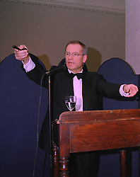 LORD ARCHER auctioning, at a reception in London on 15th January 1998.<br /> MEO 51