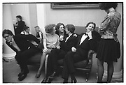 Virago's reception, Old Library. Lady Margaret Hall, Oxford. May 1988