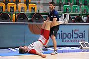 DESCRIZIONE : Campionato 2014/15 Serie A Beko Dinamo Banco di Sardegna Sassari - Grissin Bon Reggio Emilia Finale Playoff Gara4<br /> GIOCATORE : Achille Polonara<br /> CATEGORIA : Stretching Before Pregame<br /> SQUADRA : Grissin Bon Reggio Emilia<br /> EVENTO : LegaBasket Serie A Beko 2014/2015<br /> GARA : Dinamo Banco di Sardegna Sassari - Grissin Bon Reggio Emilia Finale Playoff Gara4<br /> DATA : 20/06/2015<br /> SPORT : Pallacanestro <br /> AUTORE : Agenzia Ciamillo-Castoria/C.Atzori