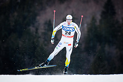 Halfvarsson Calle (SWE) during Man 1.2 km Free Sprint Qualification race at FIS Cross<br /> Country World Cup Planica 2016, on January 16, 2016 at Planica,Slovenia. Photo by Ziga Zupan / Sportida